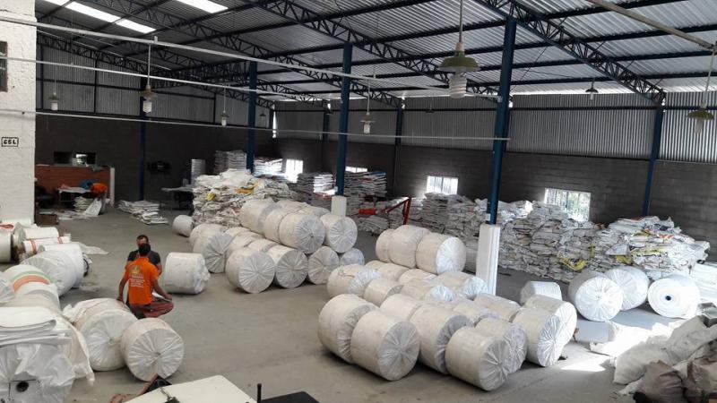 Indústria de sacos de ráfia