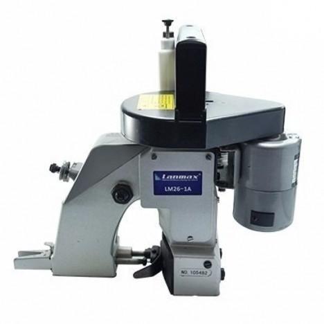Máquina para costurar e fechar boca de sacaria